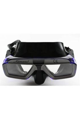 Nemesub Lens Takmaya Uygun Tempered Cam M-05 Maske Siyah - Mavi