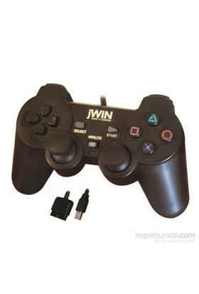 Jwin PS2/USB 1225 Dual Shock PS2/USB Gamepad