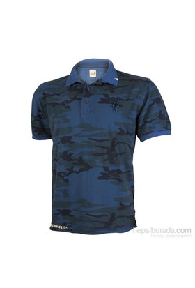 Mountain Crew Alpi Kamuflaj Mavi T-Shirt MCI5612