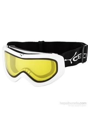 Cebe Eco Mixed Beyaz-Sarı Kayak ve Snowboard Gözlüğü CB1511D411M