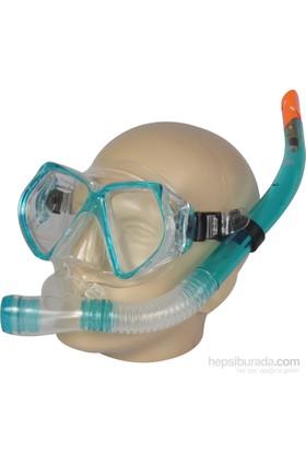 Busso M4206s Silikon Maske& Snorkel Set