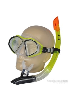 Busso M5422s Silikon Maske& Snorkel Set