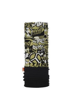 Polarwind Peace Black Bandana WDP086