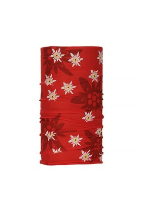 Wind Edelweiss Red Bandana WD1255