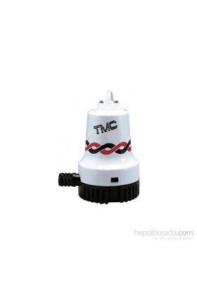 Tmc Sintine Pompası. Kapasite: 2500 Gl/Saat 12Vamper: Basma Yüksekliği: 4.6 Ebat: 166X132x195 Mm