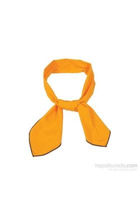 Cool Tie -Düz Renk Koyu Sarı