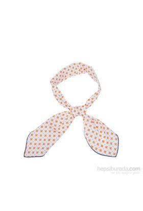 Cool Tie - Desenli Turuncu Çiçek