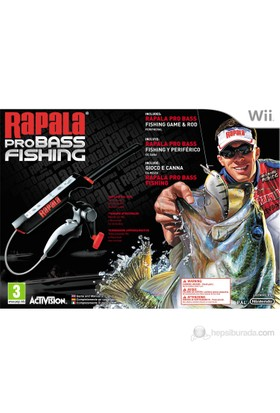 Rapala Pro Bass Fıshıng Rod Bundle Wii