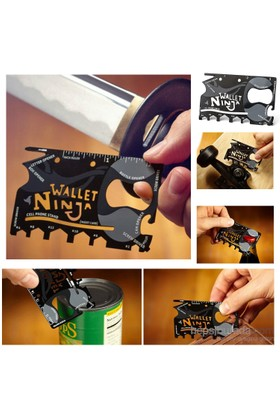 Ninja Wallet 18 in 1 Multi Tool Kit