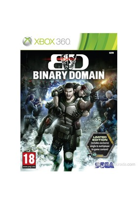 Binary Domain Limited Edition Xbox 360