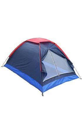 Angel Eye 3 Kişilik Şapkalı Ortadan Fermuarlı 200X150x110 Cm Kamp Çadırı