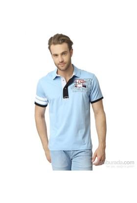 Dewberry Erkek Tişört Mavi