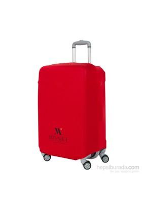 My Valice Küçük Valiz Koruyucu Kılıfı Kırmızı