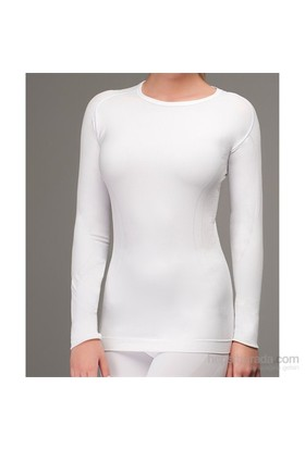 Thermoform Sport Seamless Sw Shirt Kadın Termal İçlik