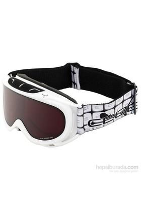 Cebe Verdict M Beyaz-Koyu Kırmızı Kayak Ve Snowboard Gözlüğü
