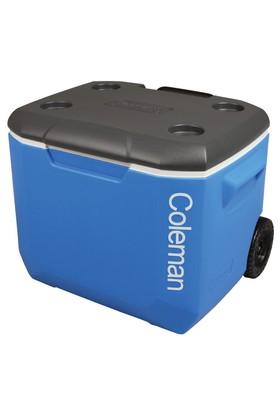 COLEMAN - Cooler 60QT Whld Blu/Wht/Dgry Emea C002 Tekerlekli Buzluk