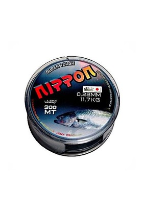Nippon Misina Super Tough 300 Mt Gri 0,30 Mm