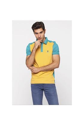Adze Mat Yeşil Erkek Polo Yaka T-Shirt