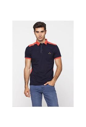 Adze Lacivert Erkek Polo Yaka T-Shirt