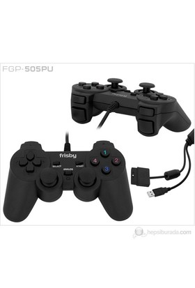Frisby FGP-505PU Pc, Ps2, Ps3 Uyumlu Game Pad Titreşimli Direct-X Uyumlu