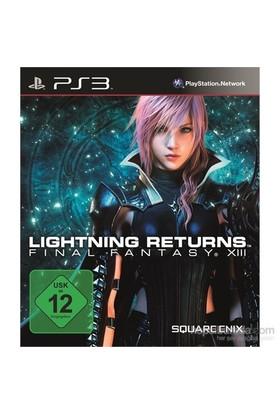 Lightning Returns Final Fantasy XIII PS3
