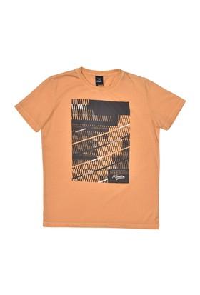 Kinetix A5131375 Turuncu Erkek T-Shirt