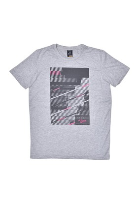 Kinetix A5131376 Gri Mel Erkek T-Shirt