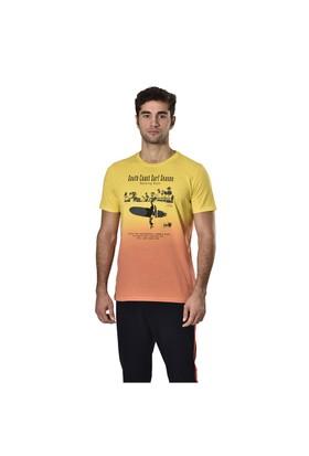 Kinetix A5131398 Turuncu Erkek T-Shirt