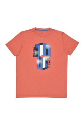 Kinetix A5131176 Turuncu Melanj Erkek T-Shirt