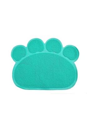 Lion 60X45Cm Kedi Tuvalet Paspası Yeşil
