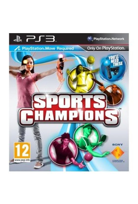 Sports Champions ( Move Uyumlu ) PS3