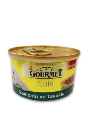 Gourmet Gold Somonlu Tavuklu Kedi Konservesi 85 Gr - 6 Adet
