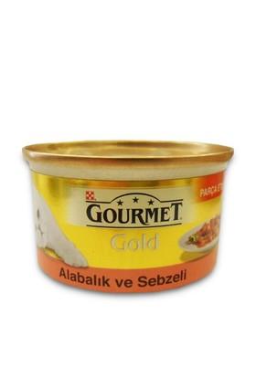 Gourmet Gold Alabalık ve Sebzeli Kedi Konservesi 85 Gr - 6 Adet