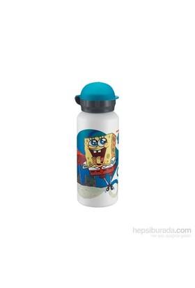 """Laken Alüminyum Hit Sponge Bob Şişe 0,45L Playa"""" LKSB08.45"""