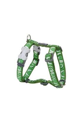 Reddingo Circadelic Desenli Yeşil Köpek Göğüs Tasması 20 Mm