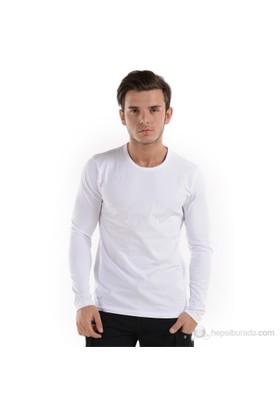Jack & Jones Erkek T-Shırt 1012227 Beyaz