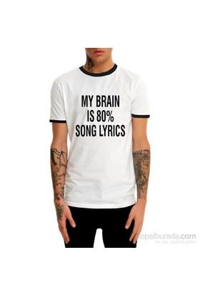 Köstebek My Brain %80 Et671 Erkek T-Shirt