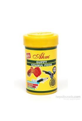 Guppy Granul Food 100 Ml Balık Yemi
