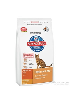 Hill's Science Plan Tavuklu Yetişkin Kedi Maması 15 Kg (Adult Optimal Care with Chicken)