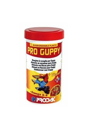 Prodac Pro Guppy Lepistes Balıkları İçin Özel Pul Yem 250 Ml