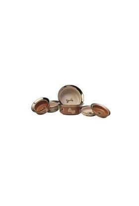 Petrageous Napa Mat Metalik Şampanya Rengi Mama Ve Su Kabı 470Ml Pl-81004