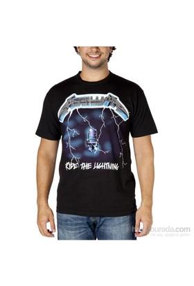 Köstebek Metallica - Ride The Lightning Erkek T-Shirt