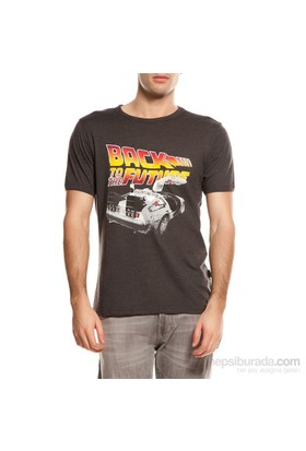 Köstebek Back To The Future Erkek T-Shirt