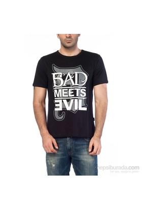Köstebek Eminem -Bad Meets Evil Erkek T-Shirt