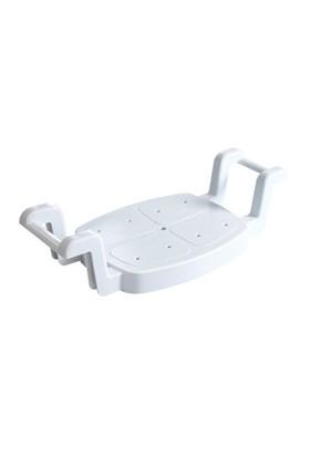 Plastik Ayarlı Küvet Oturağı Beyaz