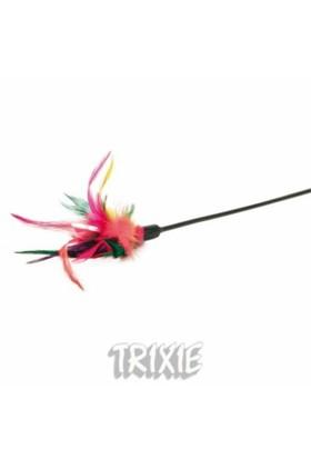 Trixie kedi oyuncağı, tüylü sopa 50cm