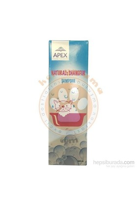 Apex Naturals Shanefur Lavantalı Kedi Şampuanı 400 ml