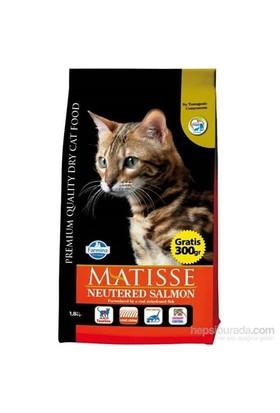 Matisse Kısırlaştırılmış Somon Kedi Maması