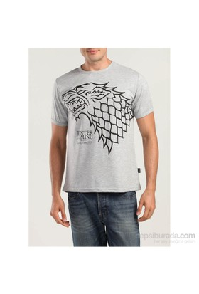 Köstebek Game Of Thrones-Stark Erkek T-Shirt