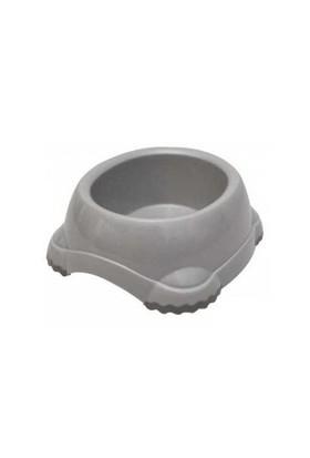 Moderna Köpek Plastik Mama Ve Su Kabı Gri 1245 Ml